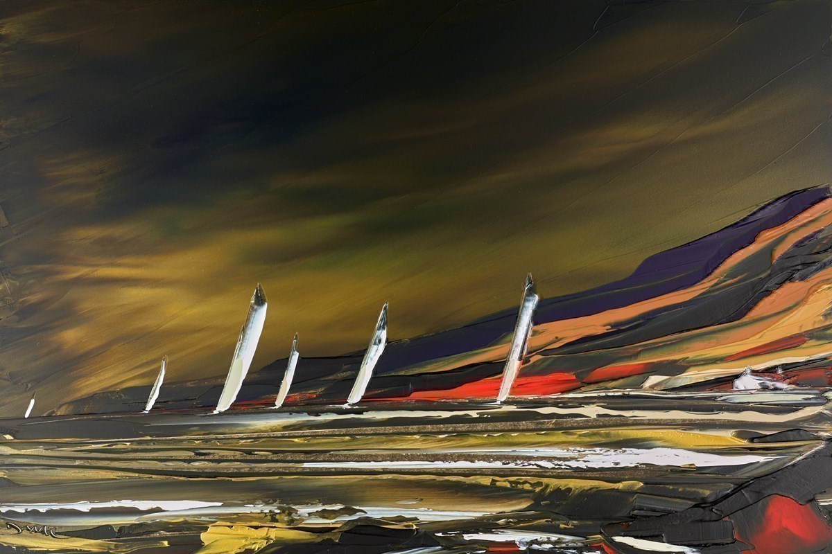 A Perfect Sailing Day by Duncan MacGregor -  sized 36x24 inches. Available from Whitewall Galleries